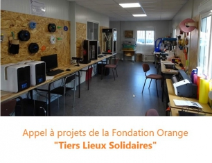 "Fondation Orange ""Tiers Lieux Solidaires"""